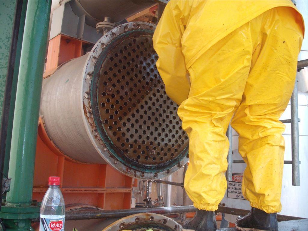 Limpeza de Reatores